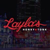 Layla's Honky-Tonk in downtown Nashville Tennessee