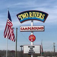 Two Rivers Campground near Opryland in Nashville Tennessee